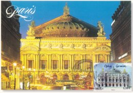 CARTE MAXIMUM:  PARIS: OPERA GARNIER, CAPITALES EUROPEENNES : 1er Jour 4.11.2010 (neuve) - 2010-...