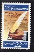 USA 1987 Bicentenary Of US Constitution II, MNH (SG 2320) - Vereinigte Staaten