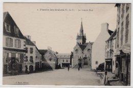 CPA  PLESTIN LES-GREVES  -  La Grande Rue - Plestin-les-Greves