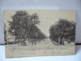 DIJON 21 COTE D'OR BOURGOGNE L'ENTRÉE DU PARC  CPA 1905 - Dijon