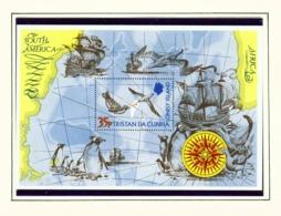 TRISTAN DA CUNHA  - 1974 Lonely Isle Miniature Sheet Unmounted/Never Hinged Mint - Tristan Da Cunha