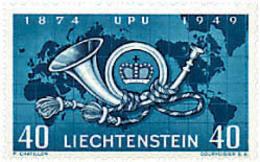 Ref. 79283 * NEW *  - LIECHTENSTEIN . 1949. 75th ANNIVERSARY OF UPU. 75 ANIVERSARIO DE LA UPU - Liechtenstein