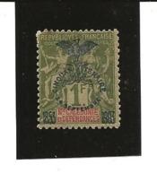 Nouvelle Calédonie YT 80 N* Dent Courte - Unused Stamps