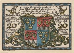 Billets De Nécessité Allemand 1921, 20 Pfennig - [ 3] 1918-1933: Weimarrepubliek