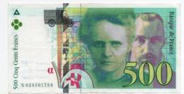 500 Francs - Marie-curie 1994 - 1992-2000 Aktuelle Serie