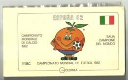 """5684 """"ESPANA 82-CAMPIONATO MONDIALE DI CALCIO-ITALIA CAMPIONE DEL MONDO""""  FOLDER FDC ORIGINALE - 1946-.. République"""