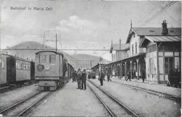 1910/20 - Mariazell  BAHNHOF , Gute Zustand, 2 Scan - Mariazell