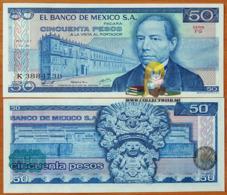 Mexico 50 Pesos 1978 UNC Serie FG P-67a - Mexico
