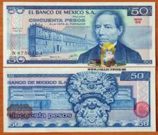 Mexico 50 Pesos 1979 UNC Serie GS P-67b - Mexico