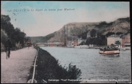 Dinant Bateau Waulsort 1908 Ravel Cycliste Bicyclette Boat Bicycle - Dinant