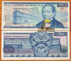 Mexico 50 Pesos 1981 UNC Serie KJ P-73 - Mexico