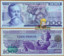 Mexico 100 Pesos 1981 UNC Serie SG P-74a - Mexico