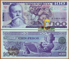 Mexico 100 Pesos 1981 UNC Serie SE P-74a - Mexico