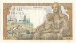 1000 F Commerce Et Industrie - DJ 11/2/1943 - E.3825/288 - 1871-1952 Anciens Francs Circulés Au XXème