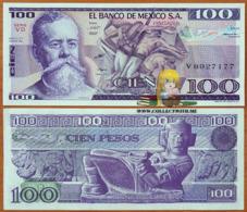 Mexico 100 Pesos 1982 UNC Serie VD P-74c - Mexico