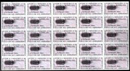 Colphi Feuillet Complet Ticket De Rationnement Carburant Automobile 10 Litres - Old Paper