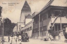TORINO-ESPOSIZIONE 1911-UNGHERIA-BELLA ANIMAZIONE-CARTOLINA VIAGGIATA IL 3-11-11 - Mostre, Esposizioni