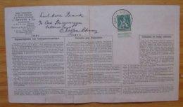 Belgian Enclave Of BAARLE DUC 1919 Belgisch Ingesloten Land Van Baarle Hertog - Covers & Documents