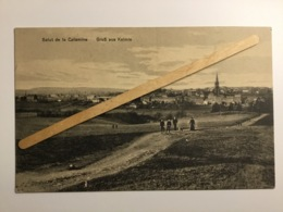 SALUT DE LA CALAMINE GRUSS AUS KELMIS Panorama,animee( édit Franz Zinzen) - La Calamine - Kelmis