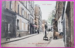Cpa Rue Des Partants Paris XX Eme Carte Postale 75 Rare Arrondissement 20 - Arrondissement: 20