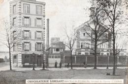 PARIS ( 75) - Chocolaterie LOMBART - Vue De L'Usine 75, Avenue De Choisy . - Non Classificati