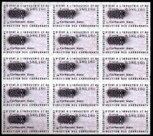 Colphi Feuillet 15 Tickets De Rationnement Carburant Automobile 10 Litres - Collections