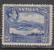 ANTIGUA Scott # 88 Used - KGVI & Nelson's Dockyard - Antigua & Barbuda (...-1981)