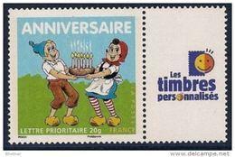 """FR Personnalisés YT 4081A """" Timbre Pour Anniversaire - L.T.P. """" 2007 Neuf** - Personalized Stamps"""