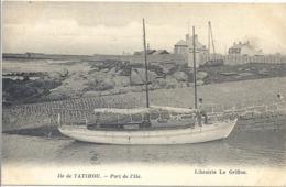 CPA Ile De Tatihou Port De L'Ile - Francia