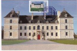 CARTE MAXIMUM:FRANCE: CHATEAU D'ANCY-le-FRANC :Architecture De La Renaissance: 1er Jour: 27 Mars 2015 (neuve) - 2010-...