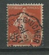 FRANCE: Obl., N° YT 135 (I), Obl. Ambulants, TB - 1906-38 Semeuse Camée