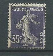 FRANCE: Obl., N° YT 142, TB - 1906-38 Säerin, Untergrund Glatt