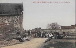 CPA De LEUVILLE Sur ORGE - Lentree Du Village - Frankrijk