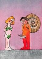 Georges STRIL - Série Illustrateur Nugeron N'H 296 - Jour De Fête - Escargot - Feuilles De Vigne - Andere Illustrators