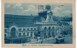 Namur - Vue Générale De La Gare  - Ed. Marcovici  - Tram - Namen