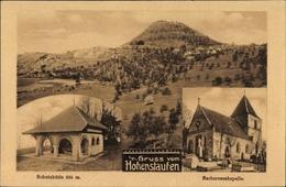 Cp Göppingen In Bade Württemberg, Hohenstaufen, Schutzhütte, Barbarossakapelle - Postcards