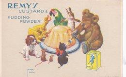 Publicité REMY'S - CUSTARD PUDDING POWDER - ILLUSTRATEUR Lawson WOOD (lot Pat 76) - Pubblicitari