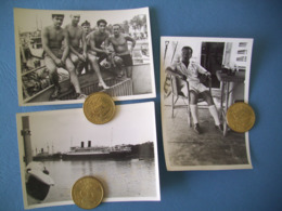 INDOCHINE / ROYALE / LOT 3 PHOTOS MARINE NATIONALE / ORIGINALES / 11 - Barcos