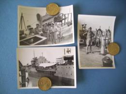 INDOCHINE / ROYALE / LOT 3 PHOTOS MARINE NATIONALE / ORIGINALES / 13 - Barcos