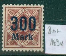Württemberg Dienst  1922   MiNr. 169     * / Unused With Original Gum   (L1108) - Wurttemberg