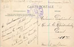 Marcophilie - Cachet Du Service Postal Du 128e Territorial à Landerneau (29) Franchise Militaire - Non Daté - Postmark Collection (Covers)