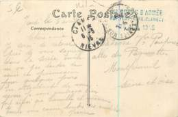 Marcophilie - Cachet Linéaire Du 8e Corps D'Armée  Hopital Temporaire De Clamecy En 1915 - FM - Marcofilia (sobres)