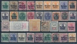 DEUTSCHE BESETZUNGSAUSGABEN 1914-18 - Selectie Nr 65 - Xx/x/(x)/o - Occupation 1914-18