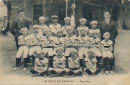 CPA Alerte De Troyes Pupilles (1)  Jeunes Garçons Aube - Troyes