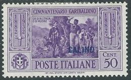 1932 EGEO CALINO GARIBALDI 50 CENT MH * - RB9-4 - Egeo (Calino)