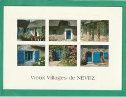 Cpa.29.  Névez.  Les Villages De Kerascoët Et De Kercanic. ( 2 Scans ) - Névez