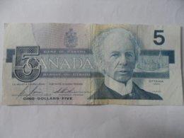 CANADA - 5 Dollar Banknote, 1986 - Canada