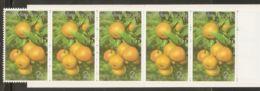 Thailand 1993 Mi# MH-1570 ** MNH - Booklet - Fruit / Citrus Reticulata - Thailand