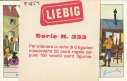 6 Chromos Liébig : Italie : Storia Del Circo : Thème Cirque    ///  REF  OCT. 19 - Liebig