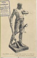 COMPIEGNE  Major OTENIN Monument érigé Le 13/07/1914 (vignette Concours De Gymnastique) - Compiegne